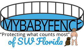 my baby fence southwest florida logo